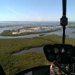 helicopter tour estero bay FL