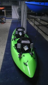 kayak installation custom