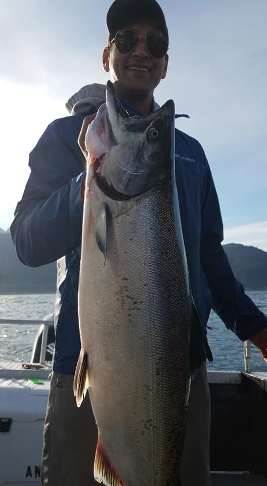 Trophy King Salmon Homer AK