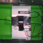 Custom kayak electronic install